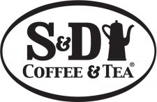 S&D Coffee & Tea Black Logo